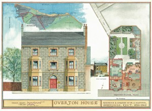 The Overton House, my grandfather's residence and practice.